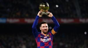 Messi won the Ballon d'Or. GOAL