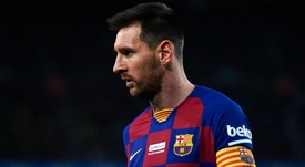 Barcelona leave Messi out of squad for Inter clash. GOAL