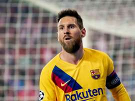 Messi scored in CL for the 15th consecutive season. GOAL