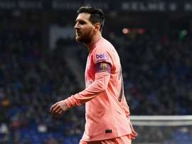 Messi is set to start against Tottenham in the Champions League. GOAL