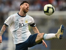 Messi's Argentina struggled through to the Copa America quarters. GOAL