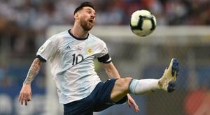 Messi's Argentina struggled through to the Copa America quarters. GOAL