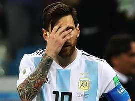 Messi has struggled. GOAL