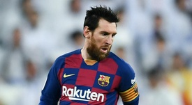 Messi better than Maradona, says Cassano. AFP