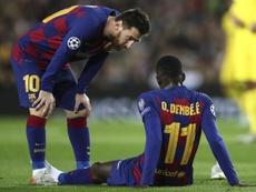 Inter-Barcellona, Dembelè non ci sarà: tornerà a febbraio. Goal