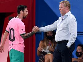 Messi signe un doublé. EFE