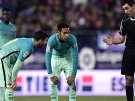 Neymar provocou torcida do Atleti. Goal