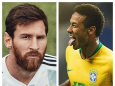 Neymar é admirado por Cafú e comparado a Messi. Goal