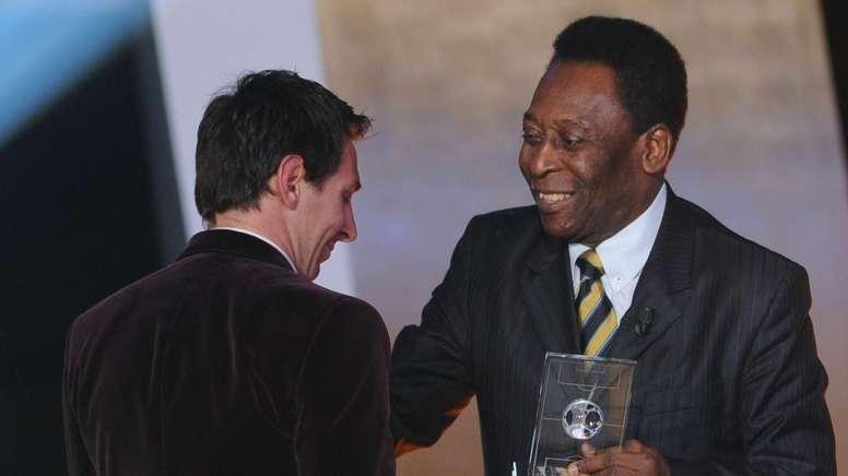 Histórico jogador do Brasil fala sobre Pelé e Messi. EFE