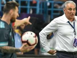 Amistoso simbolizou piora do Brasil e evolução argentina pós-Copa América. GOAL