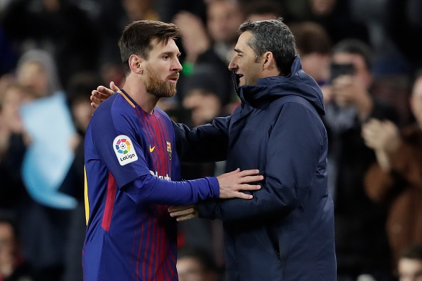 1ª vez que Messi vê um técnico demitido no Barça. Goal