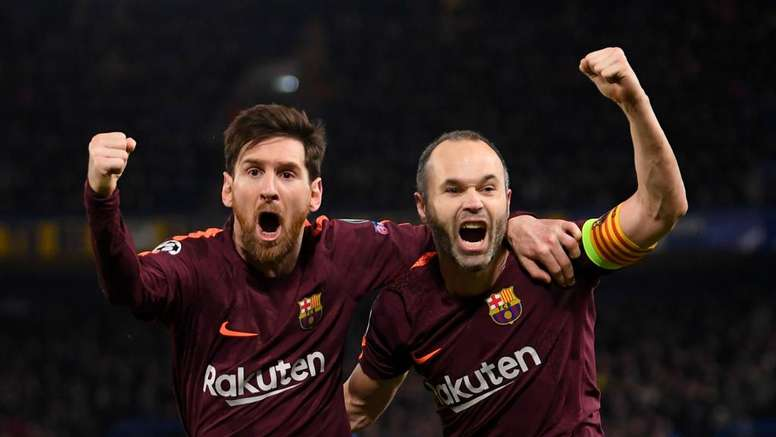 Both Messi and Iniesta have returned to the Barca squad for the Chelsea game. GOAL