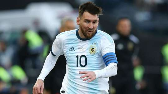 Scaloni hopes 2020 Copa America isn't Messi's last. AFP