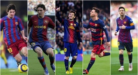 Messi turns 32 today. GOAL