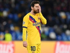 Barcelona's miserable knockout record in Italy continues. GOAL