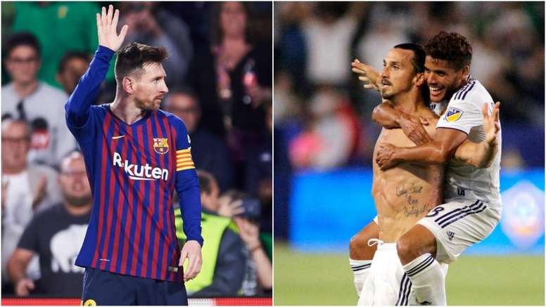 Messi and Ibrahimovic are contenders for the Puskas award. GOAL
