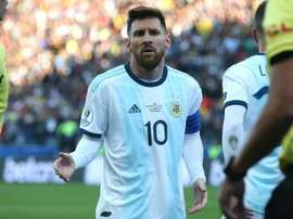 Messi is back for Argentina v Brazil. GOAL