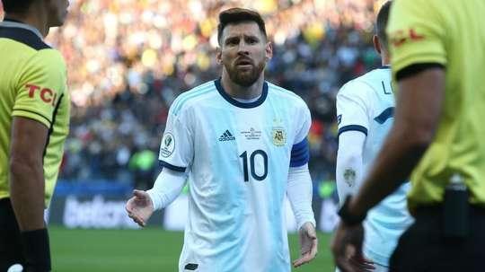 Messi is back for Argentina v Brazil. GOAL