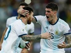 De Paul: I'd go to war for Messi. GOAL