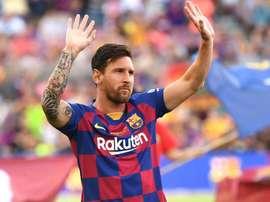 Messi torna in gruppo, il Betis risponde: 'Non avere fretta, Leo...'
