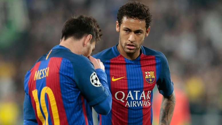 Barcelona captain Lionel Messi discussed the club's failure to re-sign Neymar