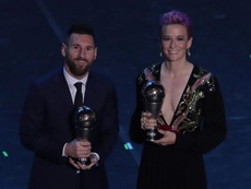 Rapinoe asks Ronaldo and Messi to 'help' in fight against racism, sexism. GOAL