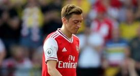 Sanllehi : 'Ozil doit être impliqué en permanence'. AFP