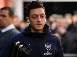 Mesut Ozil misses out on the North London derby. GOAL
