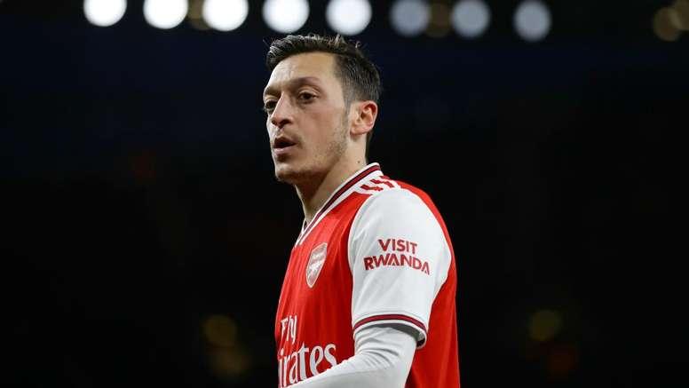 Mesut Ozil will miss Arsenal's Europa League match at Olympiakos. GOAL