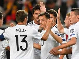 A Alemanha pode garantir esta quinta-feira o apuramento para a Copa do Mundo'2018. Goal
