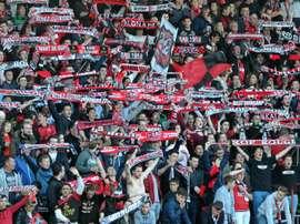 Les supporters de Metz. Goal