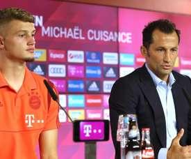 Bayern Munich, Michaël Cuisance explique son choix. Goal