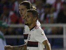 Brilhos de Michael e Thiago Maia mostram Flamengo mais forte. AFP