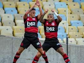 Gabigol anota 1º hat-trick pelo Flamengo