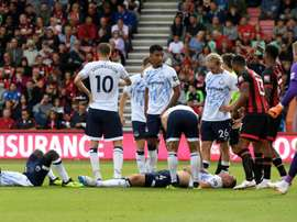 Keane was taken to hospital following the collision. GOAL