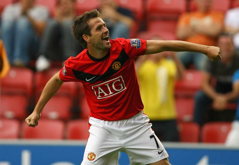 Michael Owen - Manchester United vs Wigan Athletic