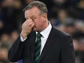 Michael O'Neill joked after the match. GOAL