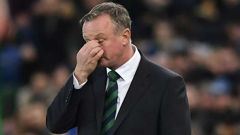 Michael O'Neill has stepped aside as Northern Ireland boss. GOAL