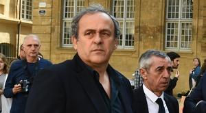 Michel Platini est sorti de garde à vue. Goal