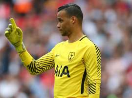 Vorm was left frustrated by Spurs' defeat. GOAL