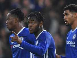 Sunday's game was a test for Michy Batshuayi. Goal
