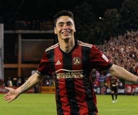 Miguel Almiron à Newcastle. Goal