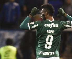 Borja ficou cinco horas sem fazer gol, mas ultrapassou Ademir da Guia. Goal
