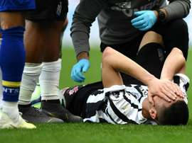 The Paraguayan international suffered an injury against Southampton. GOAL