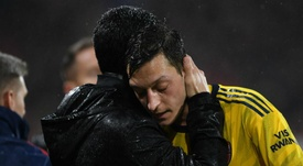 Ozil has shown new Arsenal boss Arteta an 'incredible' attitude. GOAL