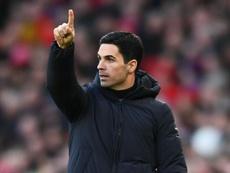 Coronavirus: Brighton v Arsenal postponed after Arteta's positive test. AFP