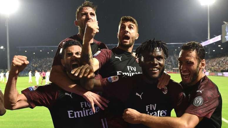 Il Milan vince ma non basta. Goal