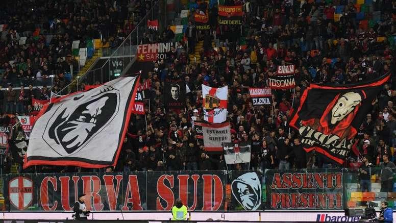 Milan, la Curva Sud attacca la società