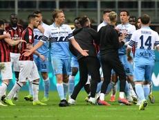 Milan-Lazio, oggi le possibili squalifiche: rischiano anche Luiz Felipe e Lucas Leiva. Goal