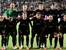 Milan squad Europa League